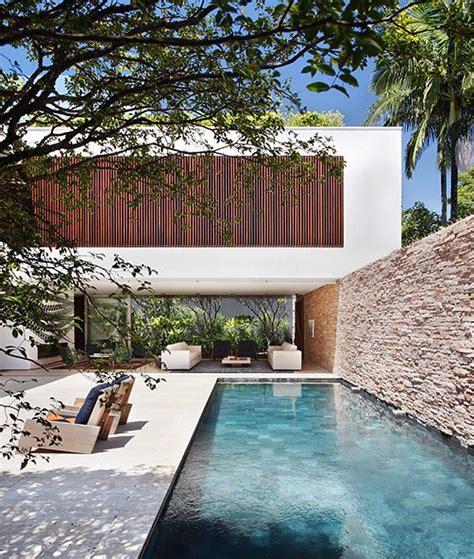 Pool Im Garten Bauen 238 by House In S 227 O Paulo Guilherme Torres Houses