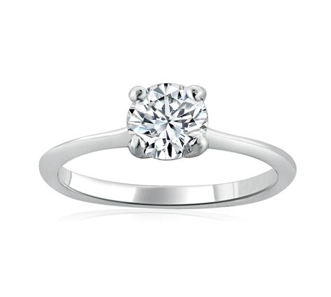 Platinum 0.51 Carat Solitaire Diamond Ring   Parkers Jewellers