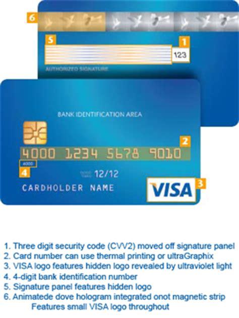 Sle Credit Card Number Of Visa Facelift Voor Veiligere Visa Creditcards Security Nl