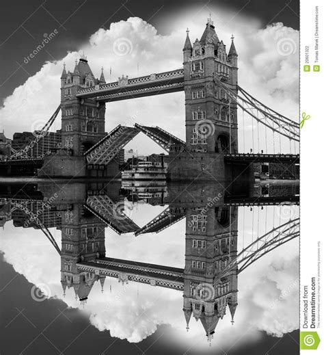 imagenes en blanco y negro de londres puente famoso en blanco y negro londres reino unido de