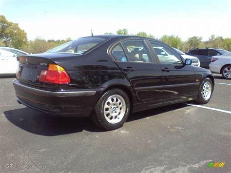 2000 bmw 3 series 323i jet black 2000 bmw 3 series 323i sedan exterior photo