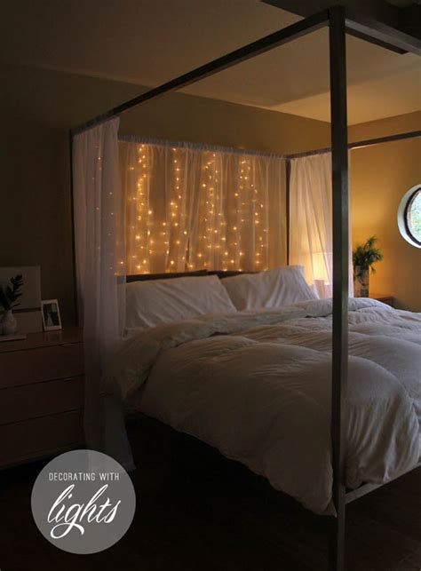 lights around bed starry starry string lights year round home decor