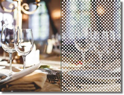 Sichtschutzfolie Fenster Punkte by Fenster Dekorfolie White Points