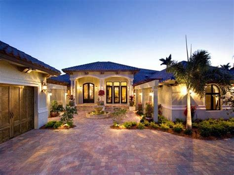 Fl Home Plans by Mediterranean Model Homes Florida Luxury Mediterranean