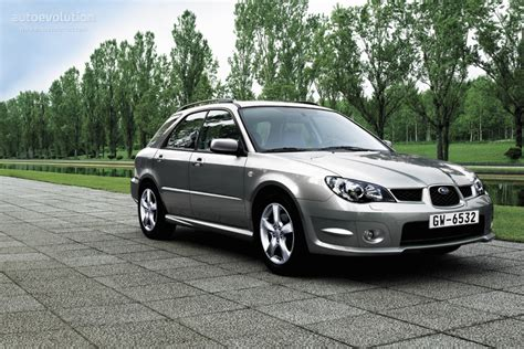 subaru hatchback 2007 subaru impreza wagon specs 2005 2006 2007 autoevolution