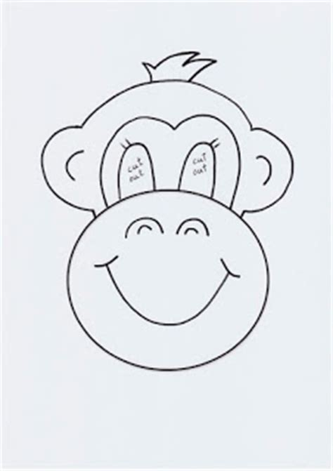 monkey mask template de mello teaching five monkeys