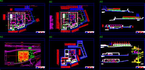 spa  physiotherapy  dwg design full project