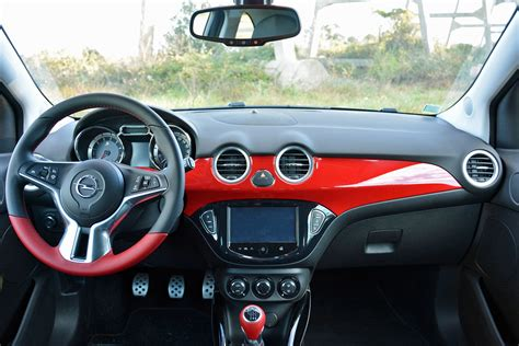 opel adam interior 2016 opel adam s review pictures specs digital trends