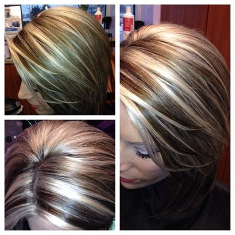 lowlights for brown graying hair best 25 chunky highlights ideas on pinterest blonde