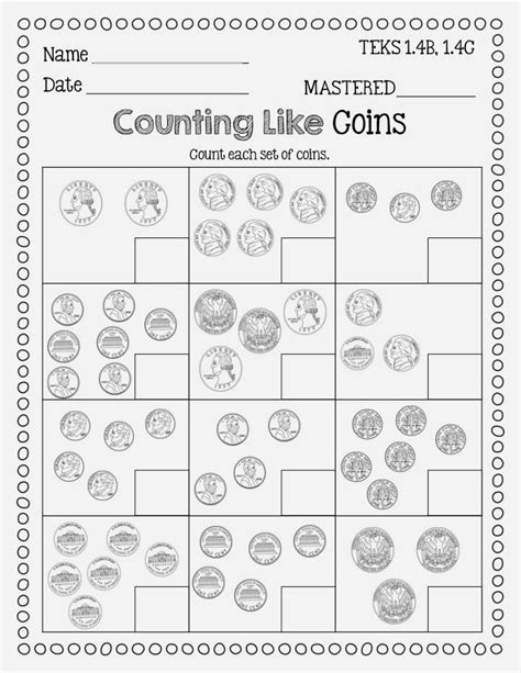 1st Grade Math Money Worksheets by 25 Best Ideas About Money Worksheets On Math