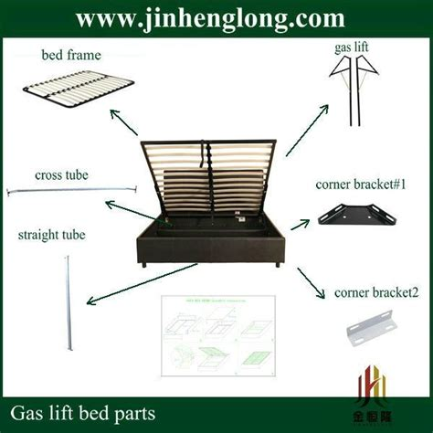 gas lift bed parts  bed parts lift storage bed