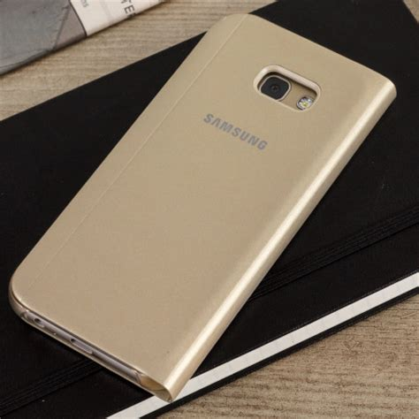 Samsung A5 Chagne Gold official samsung galaxy a5 2017 s view premium cover