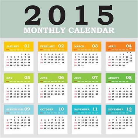 Calendario Giorni Festivi Scuola 2015 Calendario 2015 Vacanze Feste Ponti Quando Cadono