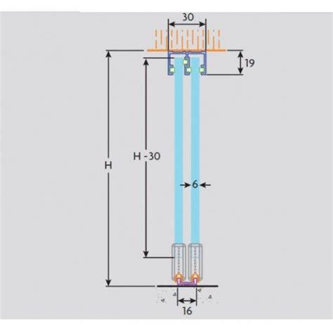 sliding glass cabinet door track henderson zenith sliding rail z12 1200mm