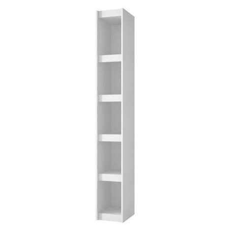 manhattan comfort serra 1 0 white 5 shelf bookcase manhattan comfort parana 1 0 series 5 shelf bookcase in