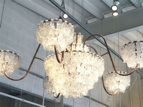 Recycled Water Bottle Chandelier Recycled Plastic Water Bottle Chandelier In Union Market Ne Washington D C Places