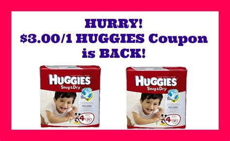 Huggies Printable 3 Coupon 3 1 huggies printable coupon archives 183 my coupon expert