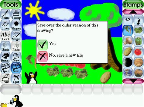 tux paint tux paint screenshots