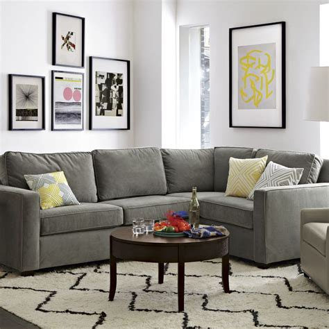 west elm henry sectional eat sleep decorate sectional couch choices