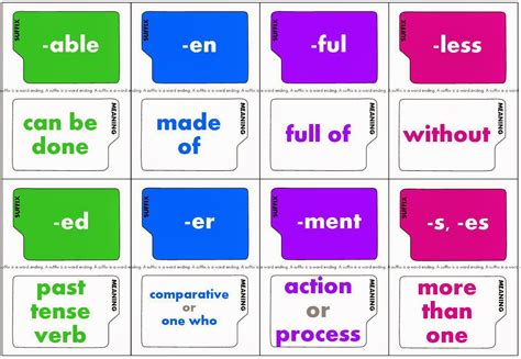 printable suffix games relentlessly fun deceptively educational super suffixes game