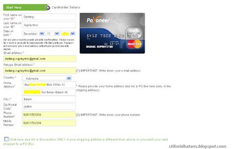 membuat kartu kuning sesuai ktp cara order kartu debit payoneer profit dollar