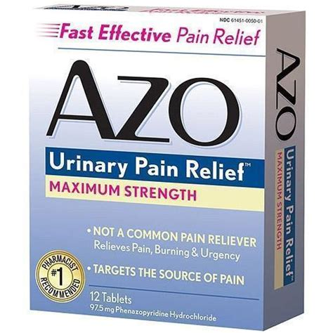 uti treatment azo standard uti treatment 12 count by azo upc 787651122533