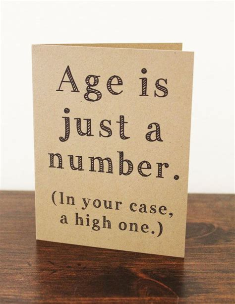Age Is Just A Number Birthday Quotes De 20 B 228 Sta Id 233 Erna Om Happy Birthday Cards P 229 Pinterest