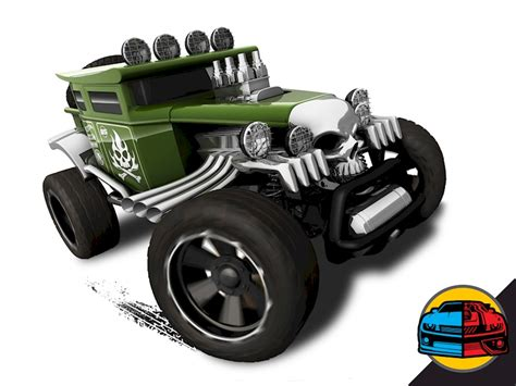 Hotwheels Bone Shaker Set 3 baja bone shaker 174 shop wheels cars trucks race tracks wheels