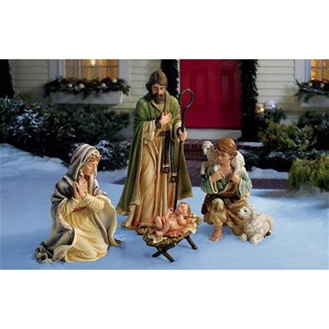 living home 4 piece nativity set things i love pinterest