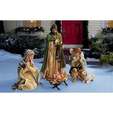 living home 4 piece nativity set things i love pinterest