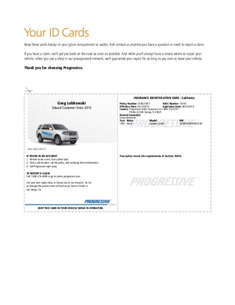 sle auto insurance card template insurance company auto insurance template