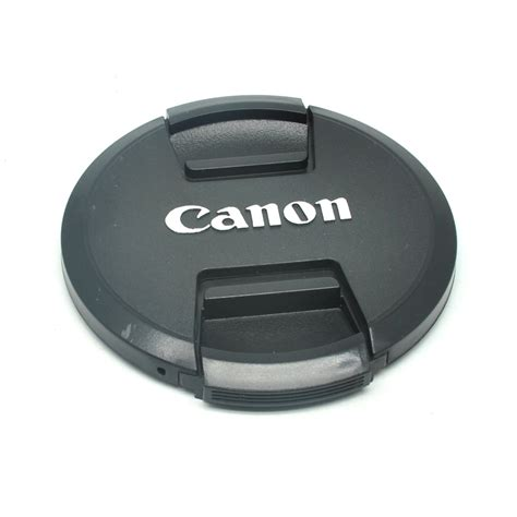 Lensa Canon cover tutup lensa kamera canon 77mm black jakartanotebook