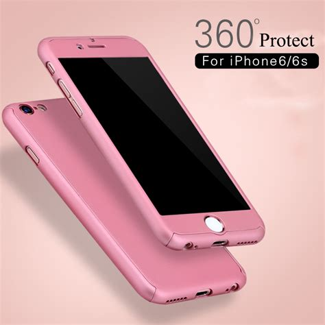Murah Iphone 7 Plus Ipaky 360 Hardcase Casing Protect Bo funda carcasa proteccion 360 186 iphone 6 6s 4 7 quot cristal templado ebay