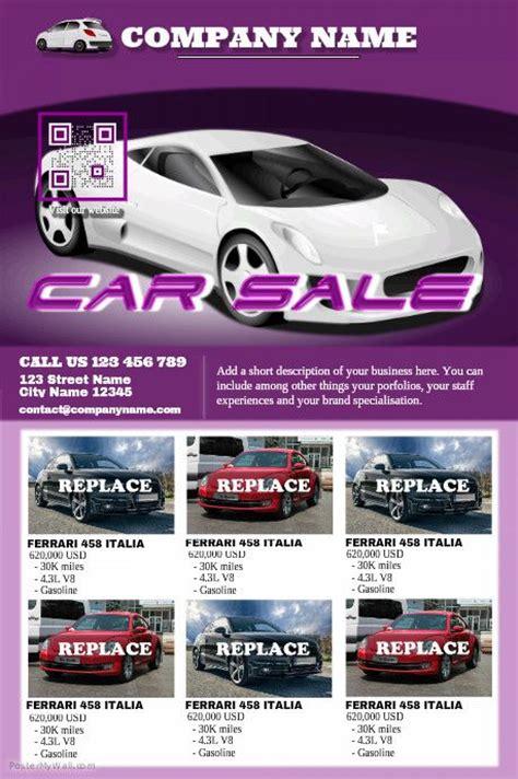 car flyer template 41 best car dealer flyer diy images on