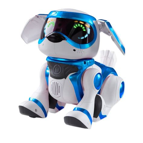 robot puppy teksta robotic puppy blue toys and gadgets