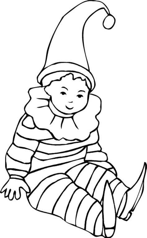 Coloriage Arlequin Picasso Dessin Coloriage Pour Bebe