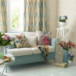 Living Room Cottage Curtains Country Style Cottage Shabby Chic Floral Summer