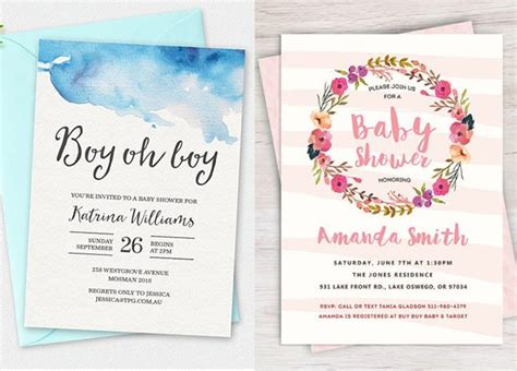 Printable Baby Shower Invitations For 100 stunning printable baby shower invitations momooze