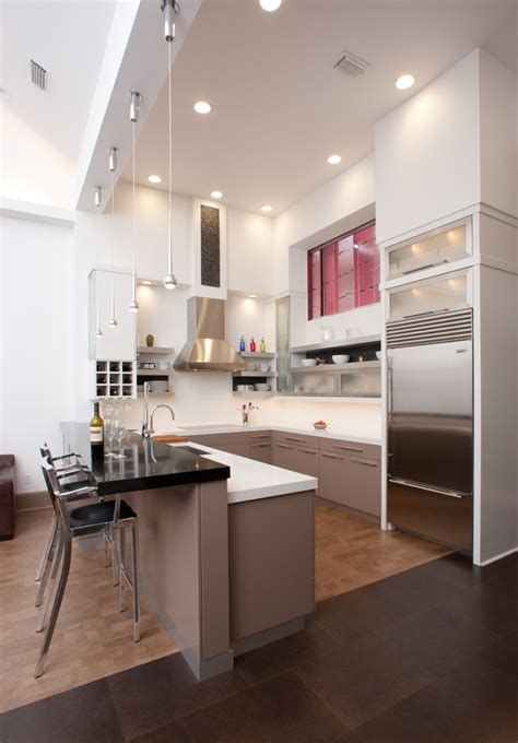 u shaped kitchen cabinets u shaped kitchen designs kitchen contemporary with curved