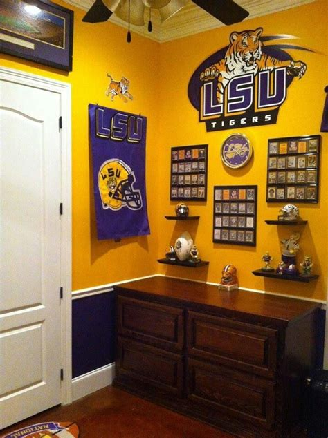 Lsu Bedroom Ideas by 17 Best Images About Lsu On Saturday
