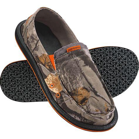 legendary whitetails s field camo slip on shoe ebay