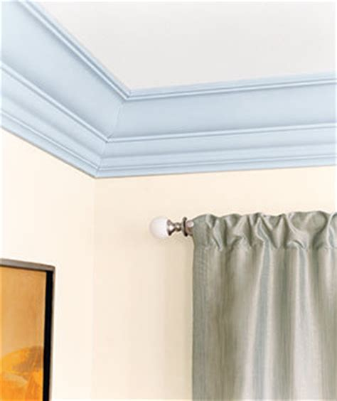 paint crown molding update your decor with easy paint projects real simple