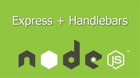 node js handlebars tutorial starter kit for nodejs express with handlebarsjs