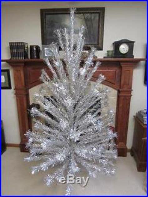 peco aluminum christmas tree vtg peco 6ft 8in aluminum artificial pine tree withoriginal box