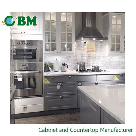 China Kitchen Cabinet grey shaker wholesale kitchen cabinet china buy kitchen