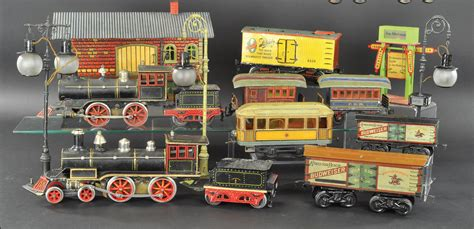 424787 toy trains christmas parts bertoia s november 8 10 early toy train and holiday