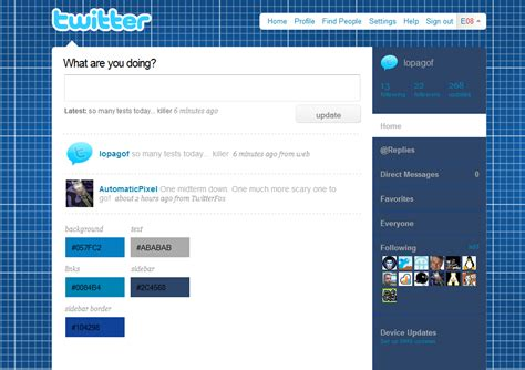 twitter layout preview sketchpad twitter layout by lopagof on deviantart