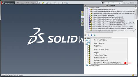 tutorial solidworks pdm solidworks workgroup pdm tutorial how to pack and go