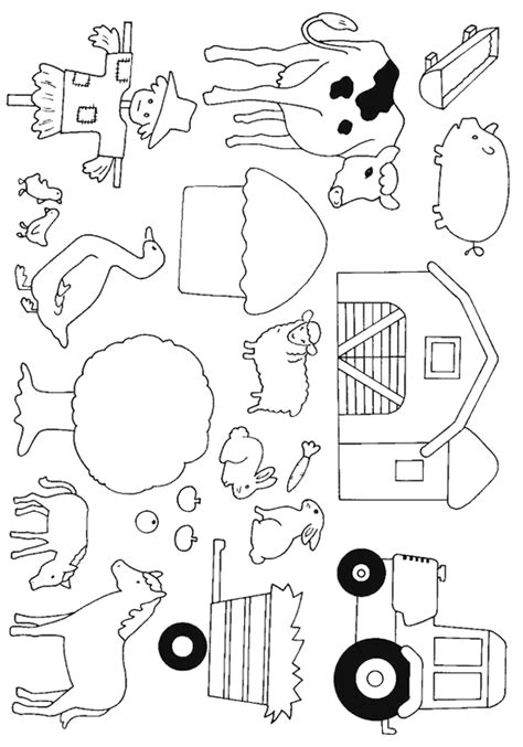 Cows 999 Coloring Pages Perfect For Quiet Book Pictures Farm Animal Coloring Pages Printable 2