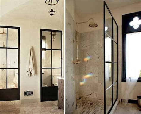 factory window shower door 10 glamorous baths metal factory window edition by